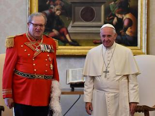 Prince and Grand Master of the Sovereign Order of Malta visits Vatican