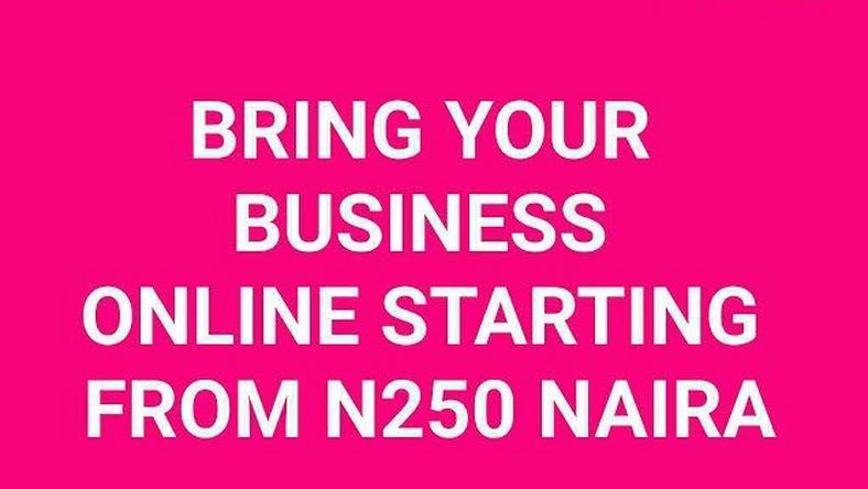 Host your website for less than N250
