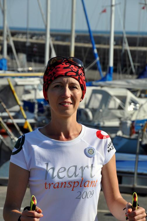 Adriana Szklarz całą sobą promuje ideę transplantacji i oddawania narządów do przeszczepu