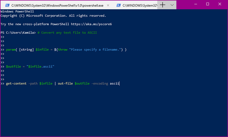 PowerShell w Windows Terminal Preview