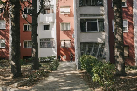 Zgrada u kojoj je Dušanka živela