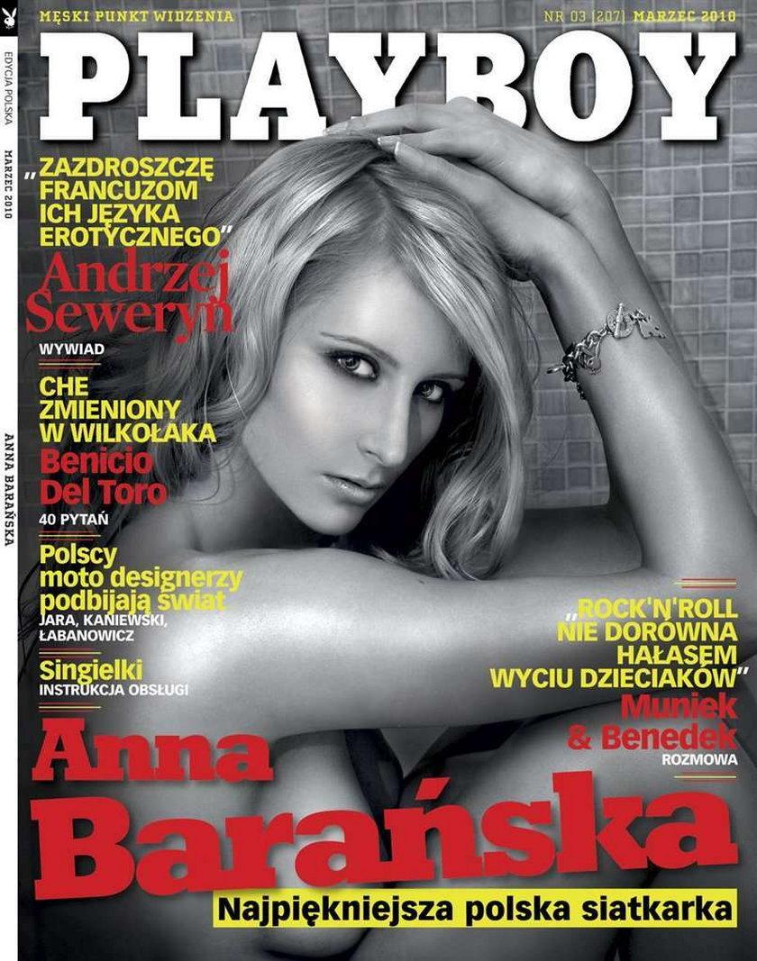 Piękna siatkarka rozebrała się dla Playboya