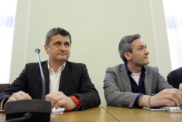 Czasy, kiedy Janusz Palikot i Robert Biedroń wspólnie działali odeszły w przeszłość