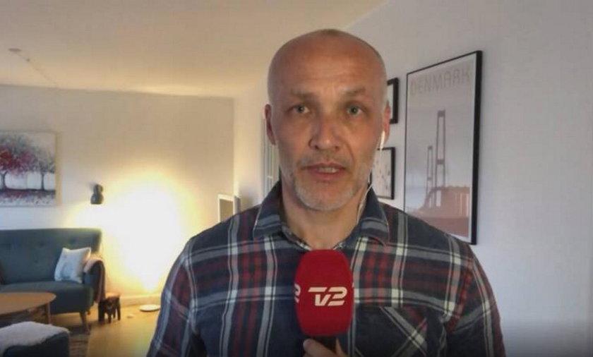 Dziennikarz telewizyjny zakażony koronawirusem