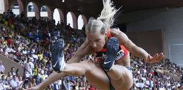 Seksowne sportsmenki na bieżni. Gwiazdy mistrzostw świata