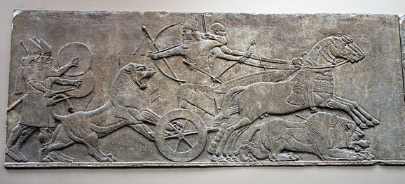 Asirski lov na lavove 700. godine pre Naše ere