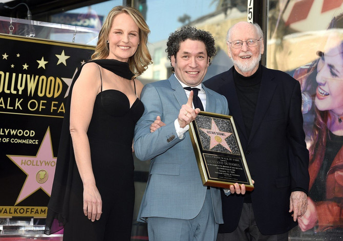 Helen Hant sa Gustavom Dudamelom i Džonom Vilijamsom