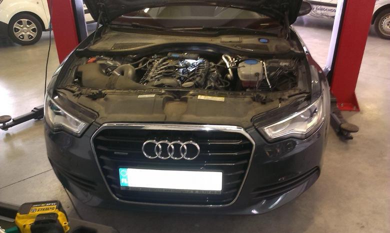 Montaż instalacji gazowej w Audi A6 2,0 TFSI 155 KW.