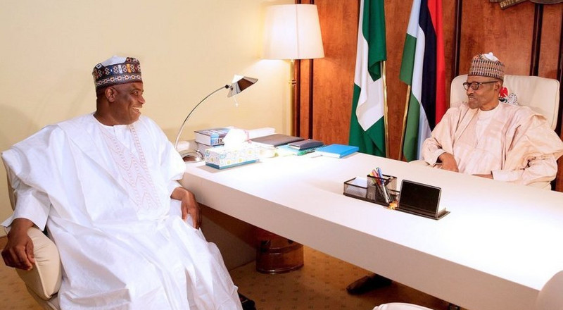 Tambuwal lauds Buhari's commitment to end security challenges in Sokoto