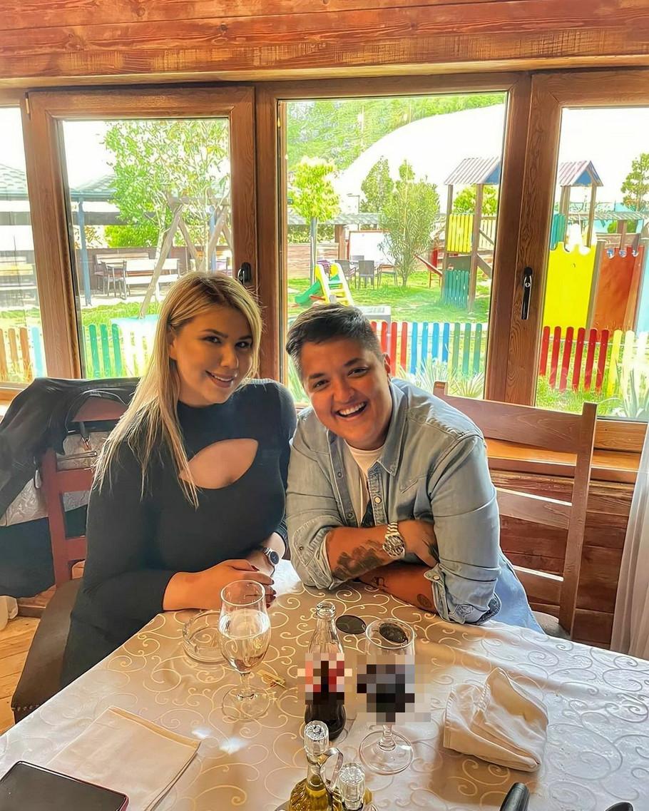 Krstinja Todorović i Marija Šerifović