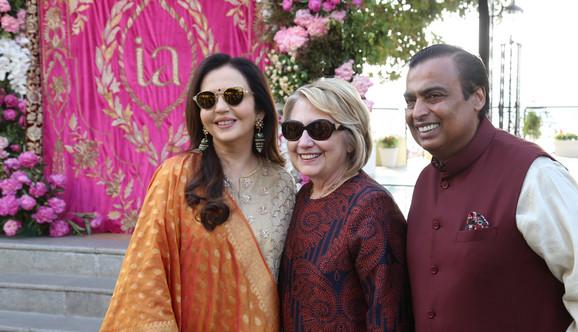 Hilari Klinton bila je jedna od zvanica