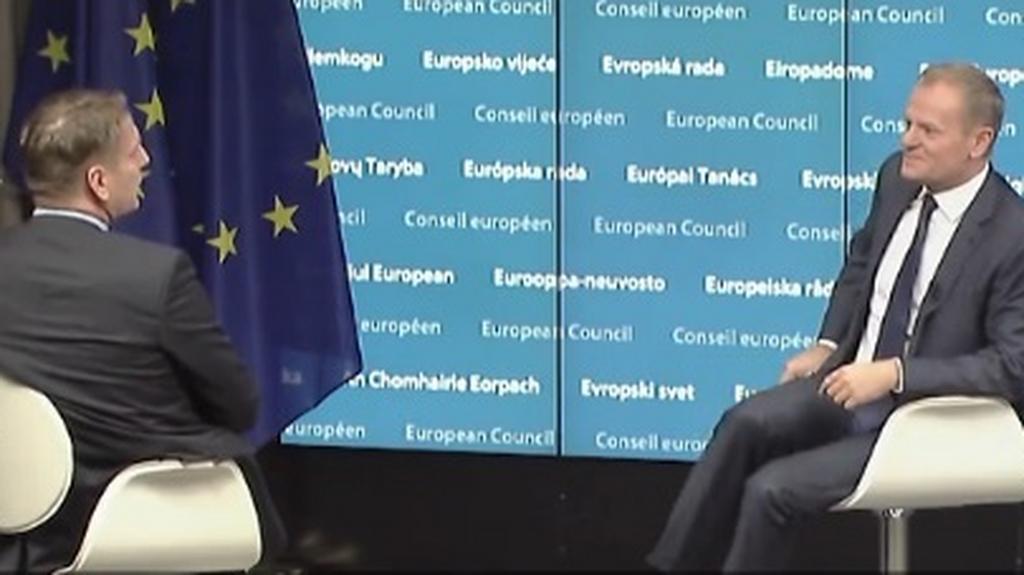 Tomasz Lis.: Donald Tusk. Wydanie specjalne. Wersja niemiecka. Część 2