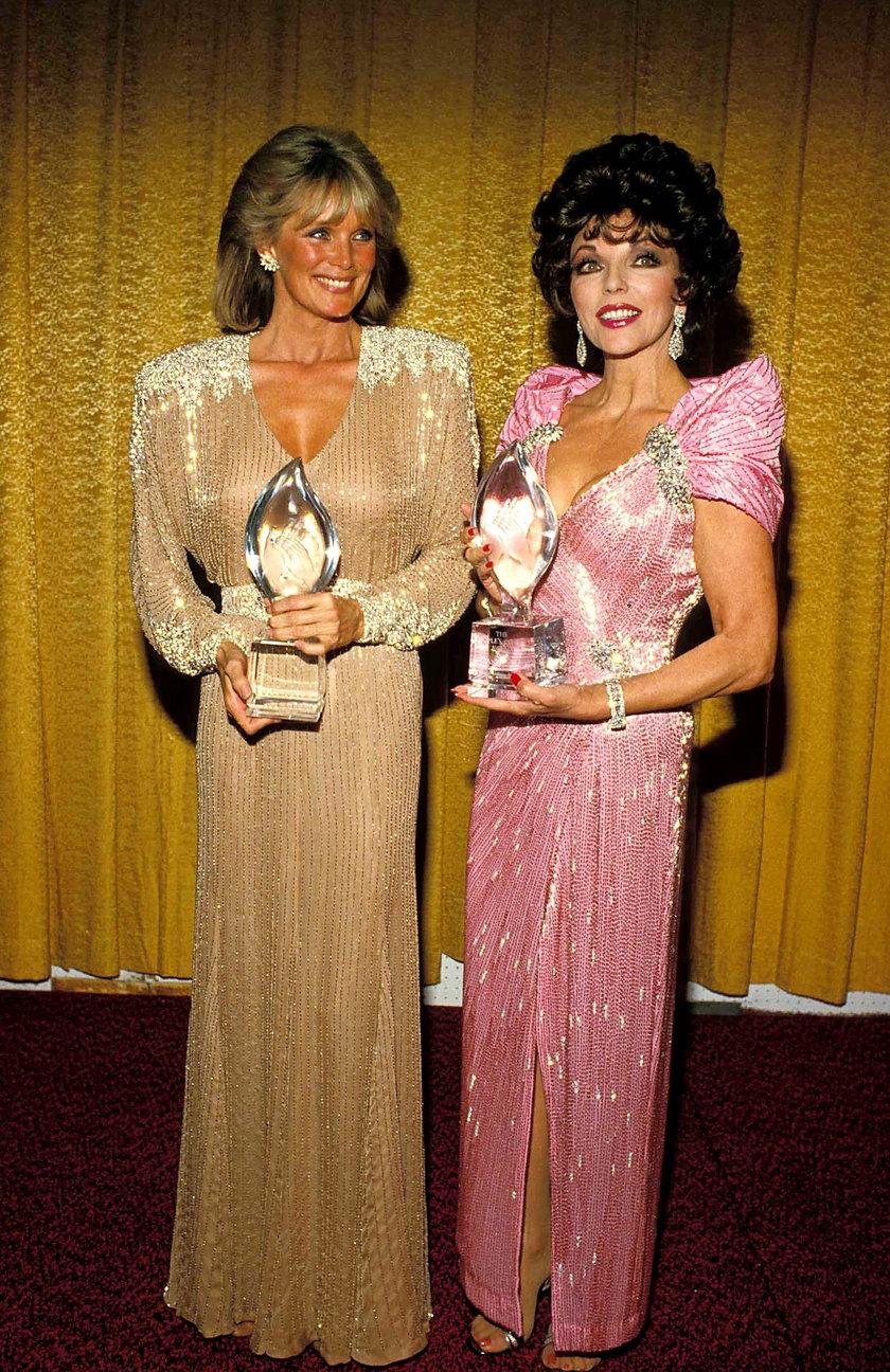 Linda Evans i Joan Collins