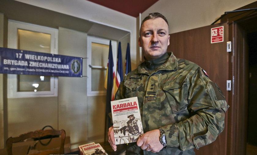 Polscy żołnierze o walkach w Karbali.
