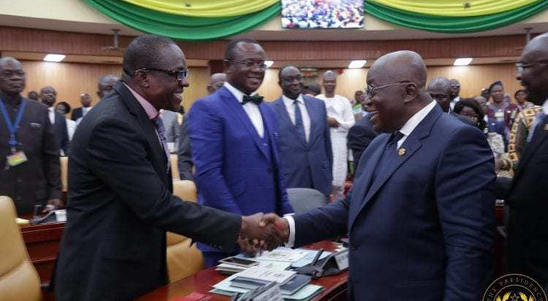 Stop appointing too many ministers from Parliament - Bagbin cautions Nana Addo