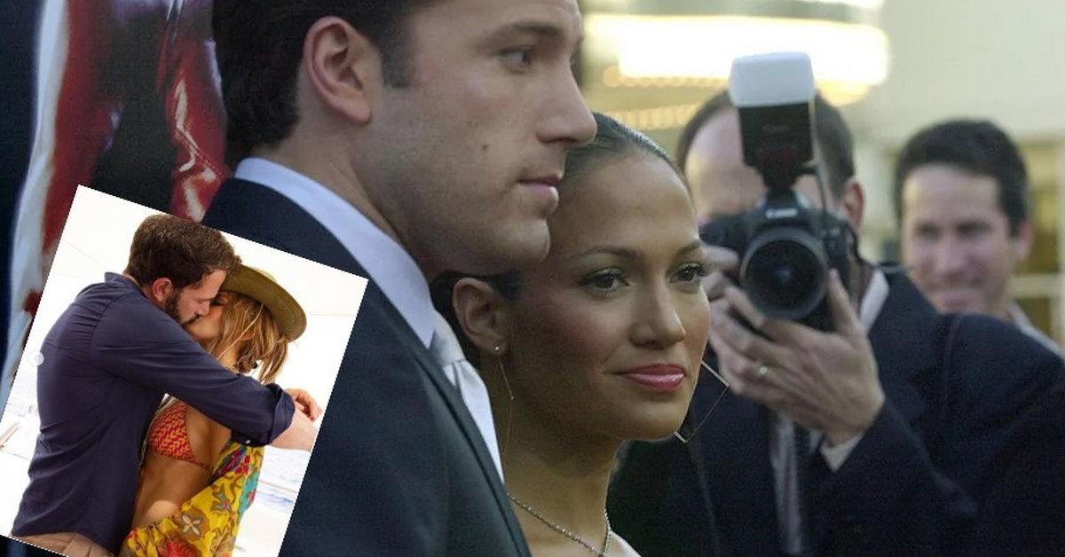 Jennifer Lopez i Ben Affleck. Gwiazda dodała romantyczne zdjęcie - Kobieta