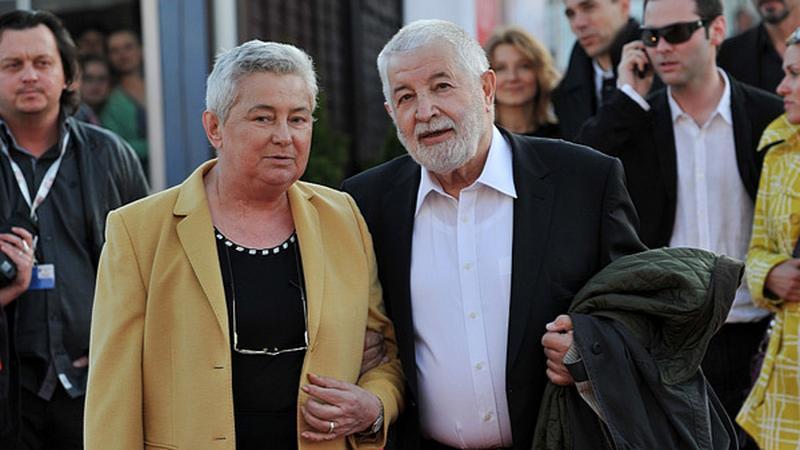 Zofia Nasierowska z mężem Januszem Majewskim