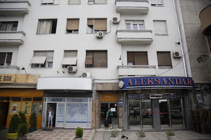Zgrada u kojoj se dogodio napad