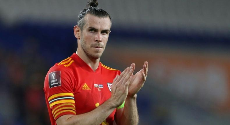 Wales forward Gareth Bale is out of World Cup qualifiers against the Czech Republic and Estonia Creator: Geoff Caddick