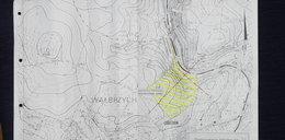 """Ta mapa wskazuje, gdzie jest """"złoty pociąg"""". Tylko w Fakcie"""