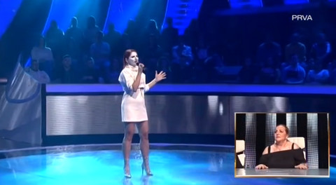 'Htela sam da budem DRUGAČIJA': Zvezda Granda se pojavila sa MASKOM NA LICU! Žiri u šoku!