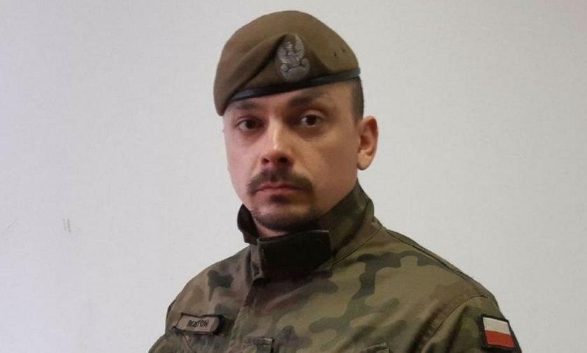 Żołnierze obrony terytorilanej uratowali emerytkę