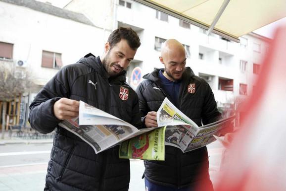 Luka Milivojević i Marko Dmitrović čitaju