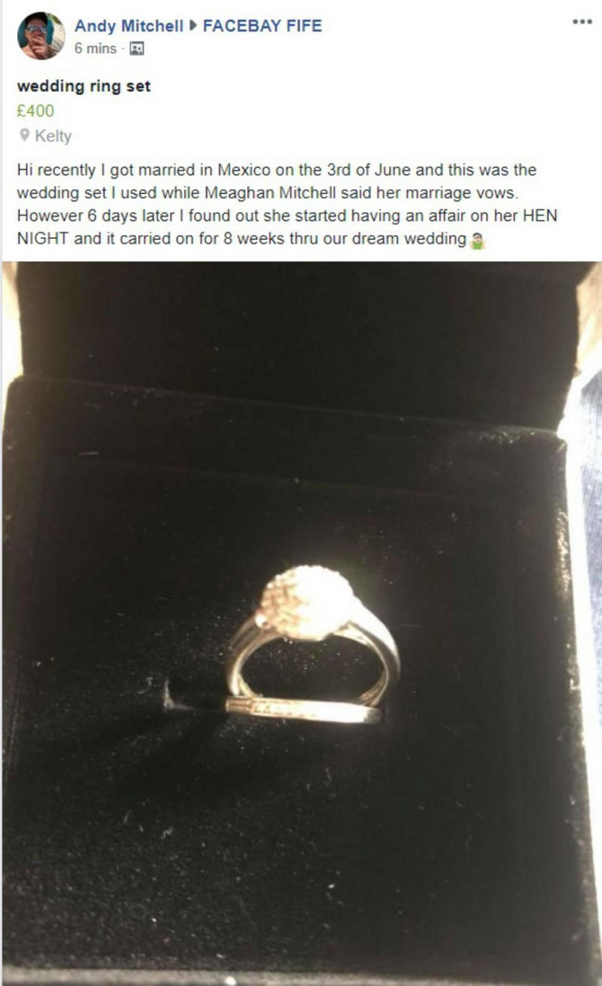 Zbog prstena je predmet sprdnje na društvenim mrežama