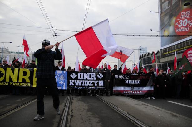 Marsz Niepodległości, podobnie jak przed rokiem, będzie zabezpieczany przez straż marszu, a nie policję