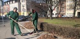 Sprzątają miasto po zimie
