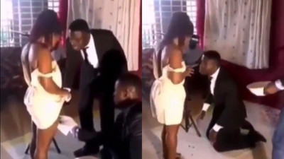 Video of Pastor shaving pubic hair of women in church is a Kumawood movie (WATCH)