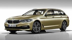 BMW 5 Touring – pierwsze wizualizacje