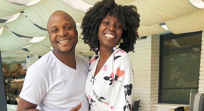Jalang'o with Anyiko. PR Guru Anyiko Owoko shares little known details about her friendship with Jalang'o