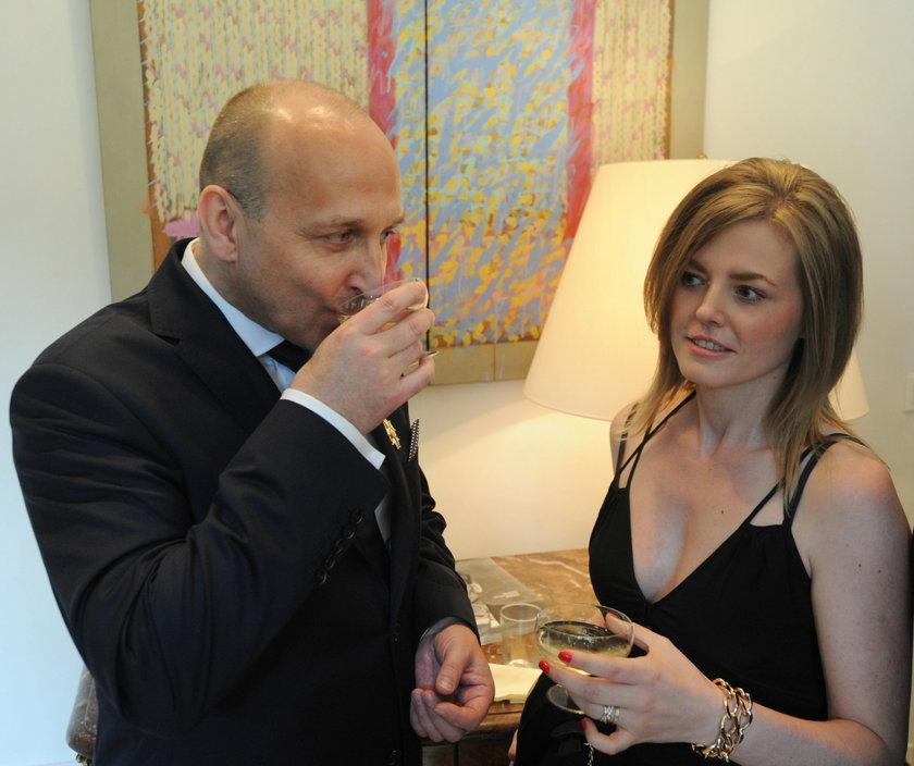 Kazimierz i Izabela Marcinkiewiczowie w 2013 r.