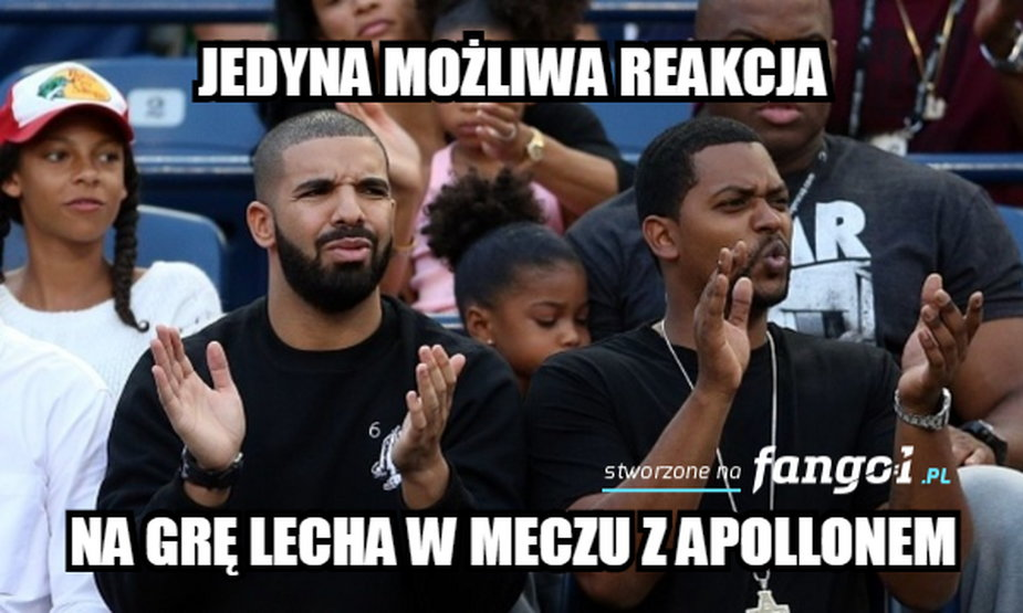 Apollon - Lech Poznań. Memy po meczu