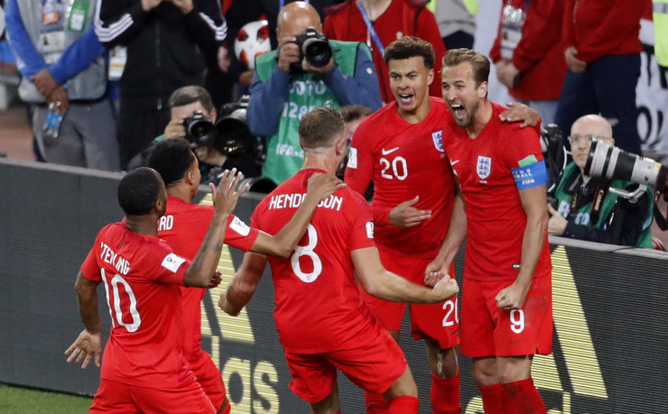 Fudbalska reprezentacija Kolumbije, Fudbalska reprezentacija Engleske
