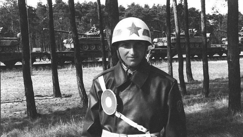 Legnica, wycofywanie wojsk radzieckich z Polski. Fot. Jacek Marczewski/Agencja Gazeta