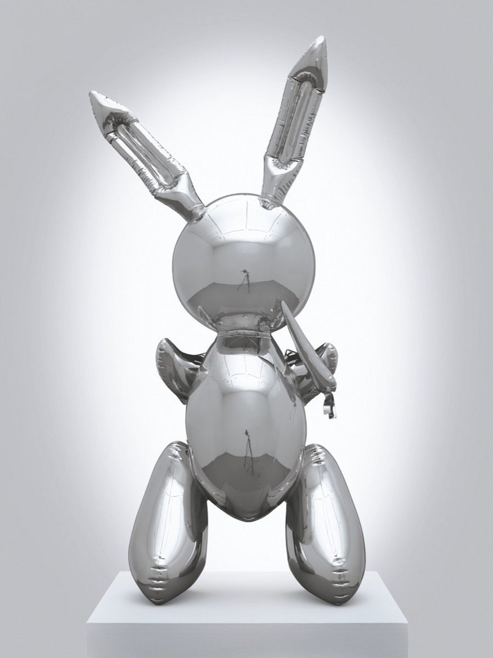 "Jeff Koons, ""Rabbit"" (1986) - 91 075 000 dol."