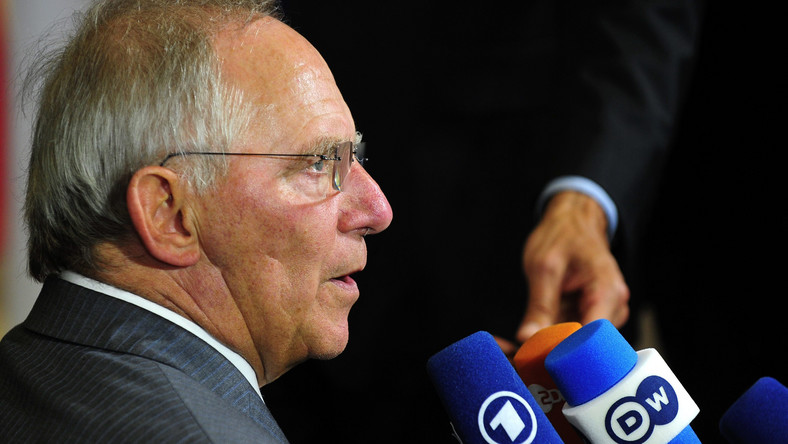 Wolfgang Schaeuble ostro odcina się Obamie