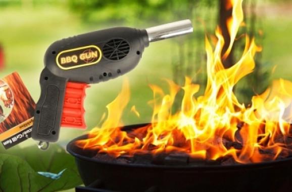 Ventilator za raspaljivanje roštilja