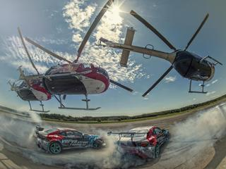 Red Bull Heli Drifting