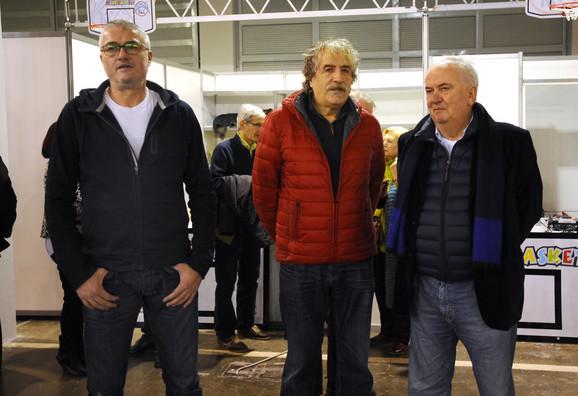 Predrag Danilović, Branko Kovačević i Božidar Maljković