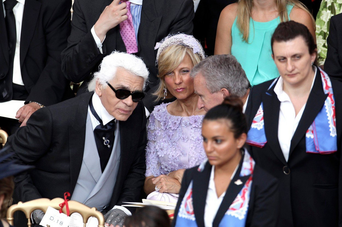Karl Lagerfeld kao gost
