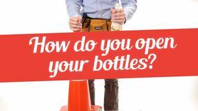 21 sposobów na otwieranie butelek bez użycia otwieracza