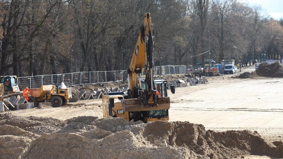 Budowa stadionu lekkoatletycznego w Gorzowie