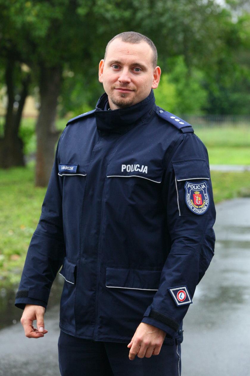 Sylwester Marczak z KSP