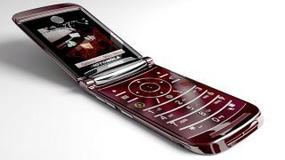 Personalizacja telefonu Motorola RAZR2 V9