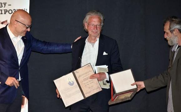 Peter Handke prima nagradu