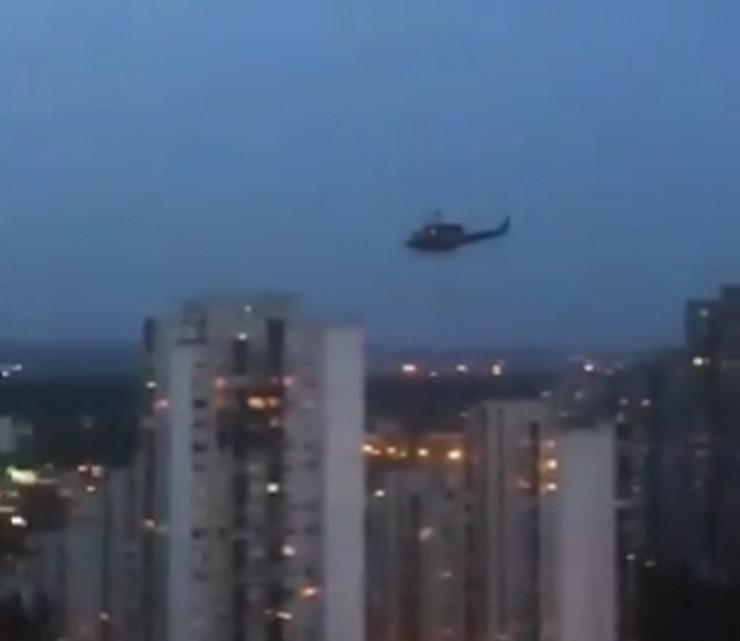 policijski helikopter