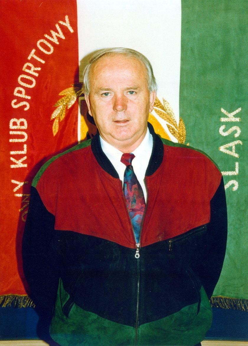 Stanisław Świerk, trener Śląska Wrocław w 1995 roku